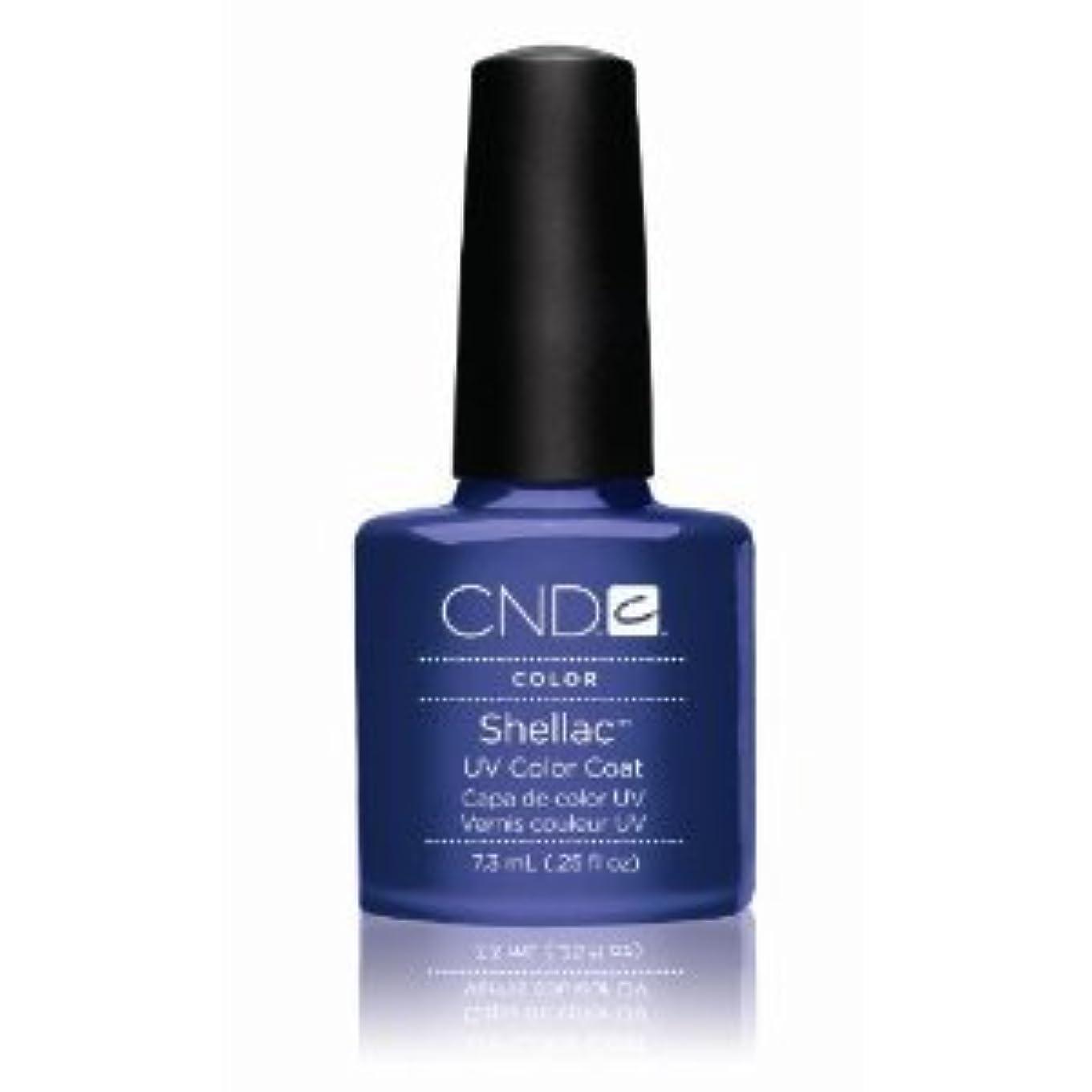 弁護士酸混乱CND(シーエヌディー) シェラック UVカラーコート7.3mL 530 Purple Purple(パール) [並行輸入][海外直送品]