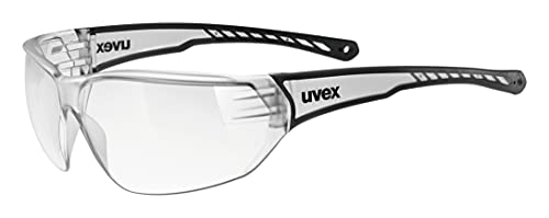 uvex Unisex – Erwachsene, sportstyle 204 Sportbrille, clear/clear, one size