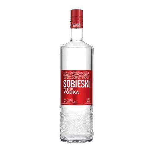 Schwarze & Schlichte Sobieski Vodka, 6er Pack, 6 x 700 ml