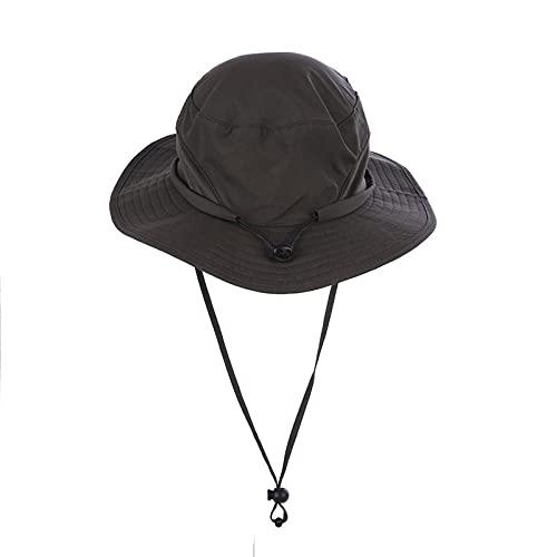 Sombrero Pescador Gorras Hombre Mujer Sombrero Unisex Al Aire Libre Gorras para El Sol Sombrero Impermeable Transpirable De ala Ancha -Army_Green