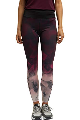 ESPRIT Sports Womens Tight Edry Reversible Sporty Pants, 004/Black 4, M