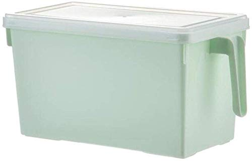 Caja de almacenaje Arroz caja de plástico de cocina cajón de congelación rectangular de almacenamiento del refrigerador fresco de la caja caja caja de almacenamiento Alimentación Alimentación Contened