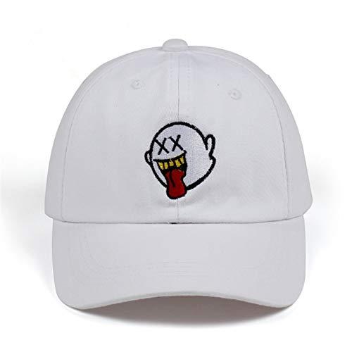 Dibujos Animados Mario Ghost Hats El Nuevo diseño Exclusivo Release Dad Hat Hombres Mujeres Gorra de béisbol Amantes de la Historieta Snapback Adjustab Hats