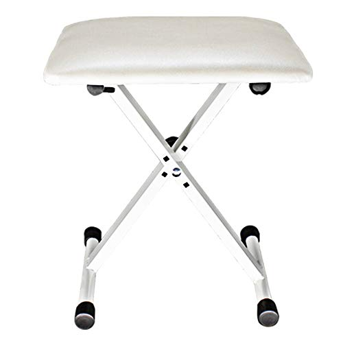 Fantastic Deal! Wagsuyun Piano Bench Piano Stool 1-Person Piano Bench Universal Instrument Chair Thr...