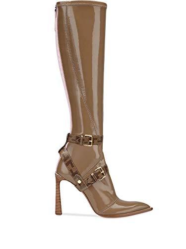 FENDI Luxury Fashion Damen 8W6996A8TWF188F Beige Polyurethan Stiefel | Jahreszeit Outlet