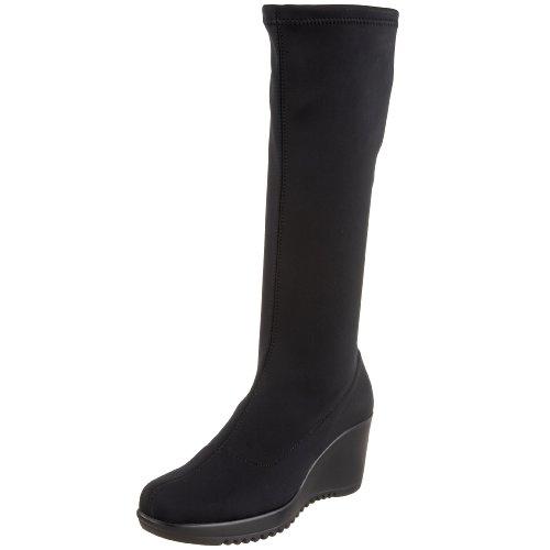 La Canadienne Women's Gaetana Boot,Black Microfibre,7 M US