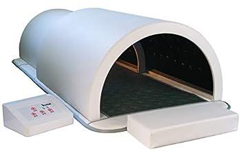 1Love Sauna Dome Premium Far Infrared Therapy Germanium & Tourmaline Energy Stones Heating Mat 360 Degree Complete Coverage Personal Sauna Capsule