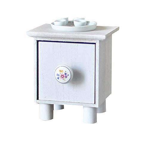 BEYST Newborn Photography Props Wooden Cabinet & Tea Set Baby Photo Background DIY Photo Props Mini Tea/Coffee Table Studio Decoration Photos Posing Props