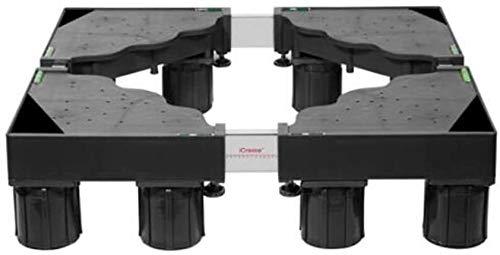 CHGDFQ Trípode universal del soporte del refrigerador del cojín del soporte de la base móvil de la lavadora con fijos 8 pies