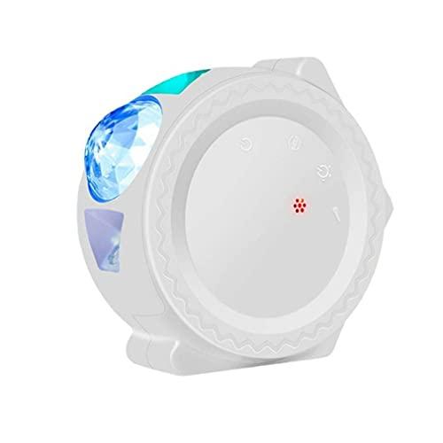 SeniorMar-UK Smart Starry Sky Projektor Galaxy Projektor 3in1 Nachtlicht Ocean Voice Music Control LED-Lampe für Kindergeschenk Smart Life