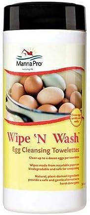 Manna Pro 湿巾清洁湿巾,25 片