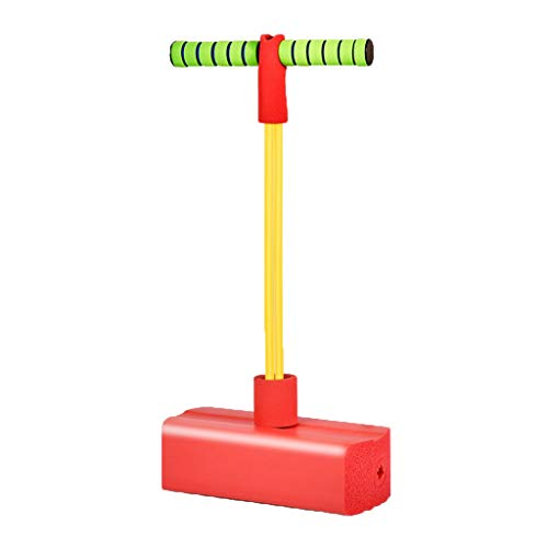 WENJIA Pogo Stick Pogos Saltarines Pogo Stick para Niños,Saludable Y Divertido Seguro Y Duradero,Adecuado para Uso En Interiores Y Al Aire Libre (Color : Red 2)