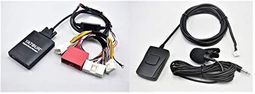 Yatour YT-M06-MAZ2-BT USB SD AUX MP3 Adattatore Kit Vivavoce Bluetooth Compatibile con Mazda 3 BL 5 CW 6 GH, Lettore CD