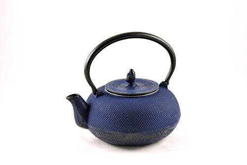 Maoci - gusseisen Teekanne Arare 1,4ltr. Nachtblau