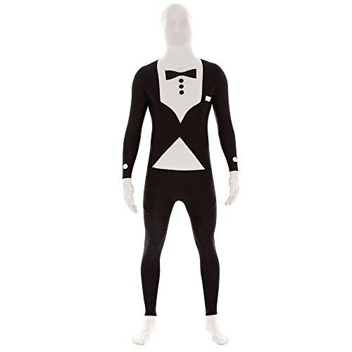 Agent Secret Smoking morphsuit Costume Second Skin