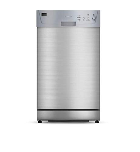 Furrion 18' Built-In RV Dishwasher with Double Rack (Stainless Steel) - FDW18SAS-SS
