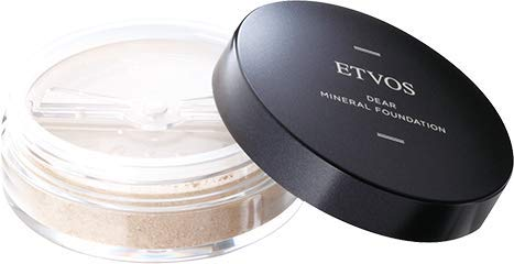 ETVOS(エトヴォス)ディアミネラルファンデーションSPF25/PA++5.5g自然なツヤ肌/透明感パウダー#20