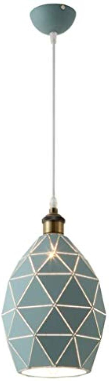 FFyy Nordic Kronleuchter Kreative Einfache Restaurant Pendelleuchte Moderne Schlafzimmer Geometrie Eisen Hngelampe Elegante Deckenleuchte Nachtlicht
