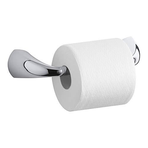 Kohler K-37054-CP Alteo Pivoting Toilet Tissue Holder, Polished Chrome by Kohler