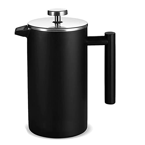 Roestvrij staal Franse pers koffie pot filter druk moka koffie percolator drukpot koffiezetapparaat theepot huis keuken…