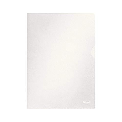Esselte Sichthüllen-Set Standard Plus, 100 Stück, A4 Format, Farblos mit matter Oberfläche, 0,115 mm PP-Folie, 54832