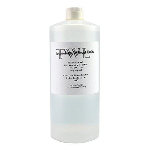 TWL B1-RL 24 Kt Gold Plating Solution - 1 Liter