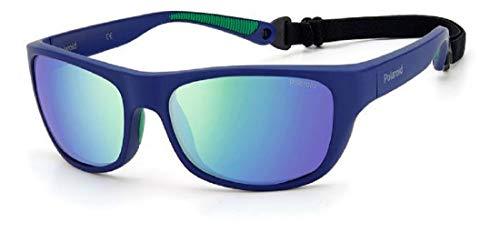 Polaroid Gafas de sol PLD 7030 S RNB 5Z azul verde lentes polarizadas flotantes flotantes