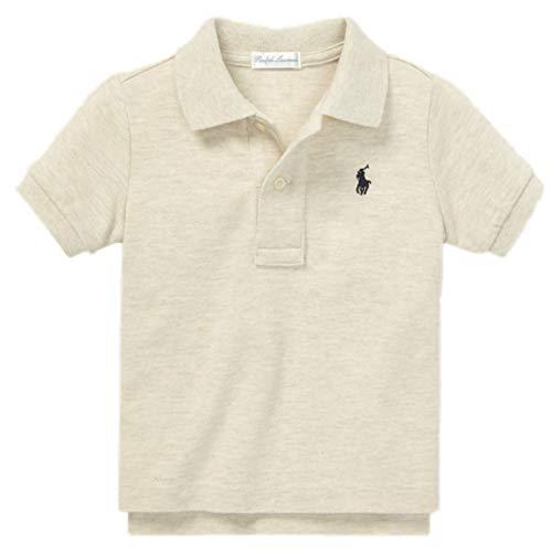 Ralph Lauren Baby Jungen Poloshirt, kurzärmelig Gr. 24 Monate, stone