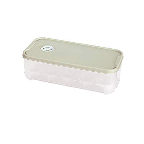 Moent Eierhalter Kunststoff Aufbewahrungsbox Container Organizer Kühlschrank Box 10 Gitter, Eierbox