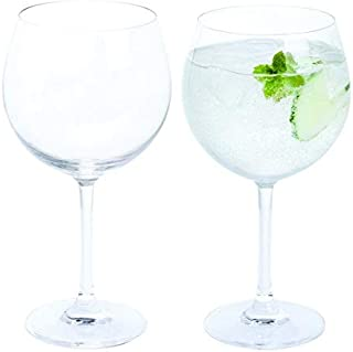 Dartington Crystal WB427 Wine and Bar Gin and Tonic Copa Pair Glasses