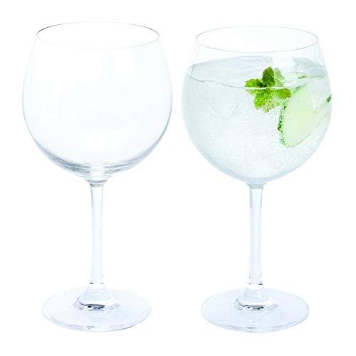 Dartington Crystal de Vino y Bar/Copa Gin y Tonic, Claro, Pack de 2