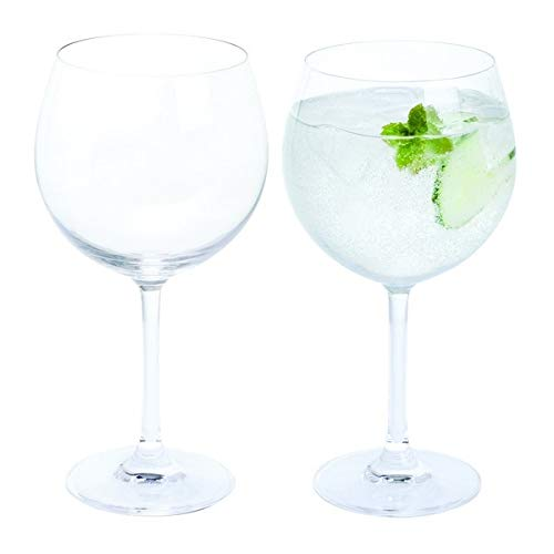 Dartington Crystal de Vino y Bar/Copa Gin y Tonic, Claro, Pack de...