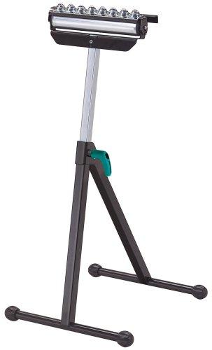 Wolfcraft 113110 6102300-1 Caballete Multifuncional: de Soporte, Rodillo y Bolas. Altura Ajustable de 700 a 1000 mm, Multicolor