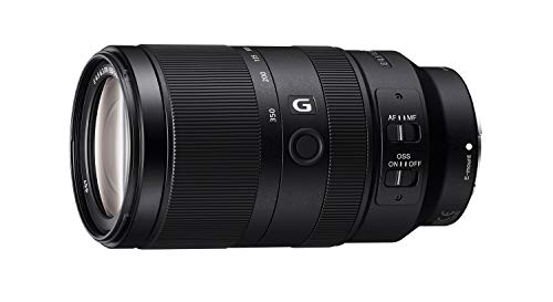 Sony E 70-350mm f/4.5-6.3 G OSS - Superteleobjetivo, APS-C, Zoom (SEL70350G)