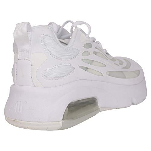 Nike Air MAX Exosense (GS), Zapatillas para Correr Hombre, White Summit White, 37.5 EU