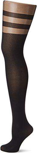 Fiore Damen Feinstrumpfhose DULCINEA/GOLDEN LINE CLASSIC Strumpfhose, 60 DEN, Schwarz (Black 001), Medium (Herstellergröße:3)