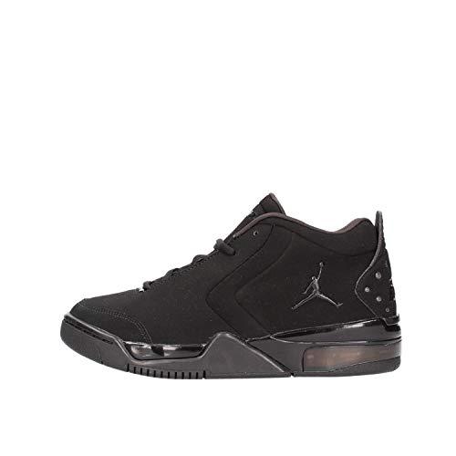 Nike Jordan Big Fund (GS), Scarpe da Basket Unisex-Bambini, Nero/Nero-Black, 37.5 EU