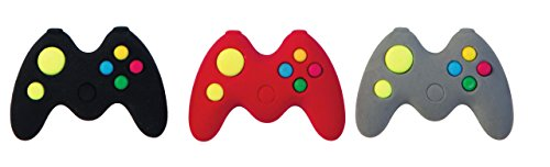 Raymond Geddes Game Controller Erasers, Set of 24 (69755)