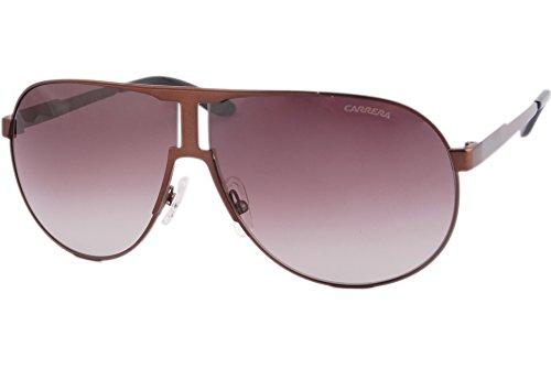 Carrera New PANAMERIKA HA 2R5 Gafas de sol, Marrón (Smtte Brown/Brown Sf), 64 Unisex-Adulto