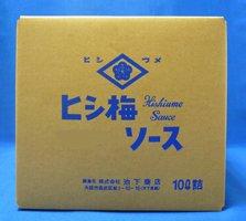池下商店 ヒシウメ タマリソース(とんかつ) 10L(業務用ポリタンク)