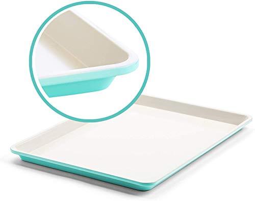 GreenLife Bakeware Healthy Ceramic Nonstick, Cookie Sheet, 18