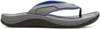 Men's Wanderer Flip Flops, Grey, 10 M