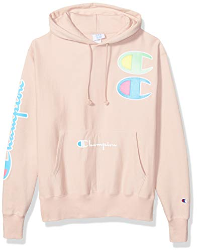 Champion LIFE Reverse Weave Exclusive Hoodie, Spiced almond pink, L
