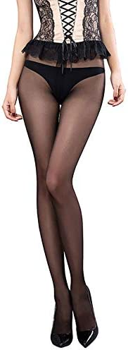 Women s Sheer High Waisted Control Top Tights Ultra Thin 15 Denier Silk Pantyhose product image