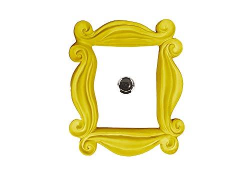Marco para la mirilla de la serie FRIENDS ideal para la decoración de la puerta Replica hecha a mano para tu entrada, como la que tenían en la serie Mónica y Rachel. Para los amigos.