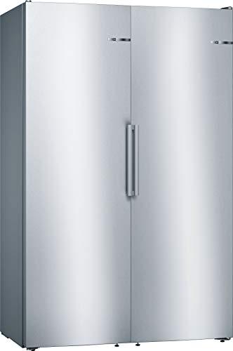 Bosch KAN95VL3Q Europäischer Side-by-Side / A++ / 186 x 120 cm / 312 kWh/Jahr / Inox-look / 346 L Kühlteil / 242 L Gefrierteil / NoFrost / SuperKühlen