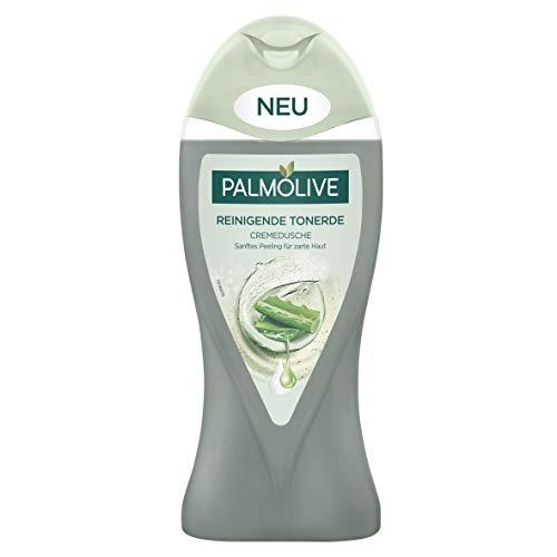 Palmolive Reinigende Tonerde Duschgel mit AloeVera-Extrakten, 3er Pack(3 x 250 ml)