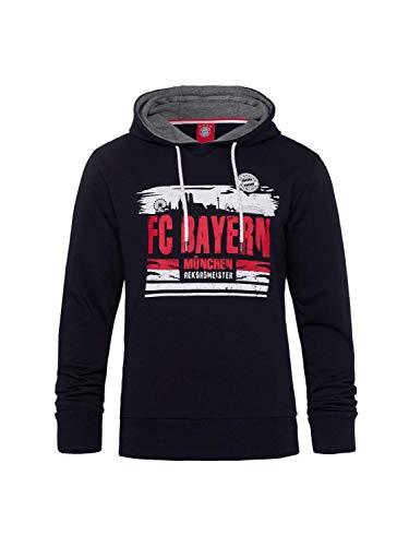 FC Bayern München Hoodie Skyline blau, S
