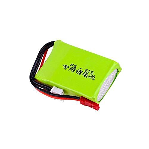 GzxLaY Batteria di Backup ad Alte Prestazioni 7.4V 1500mAh Batteria lipo per Flysky FS-GT5 Trasmettitore Modelli RC Parti Giocattoli Accessori Batteria Ricaricabile 7.4v per MC6C / MCE7-2Pcs Batteria