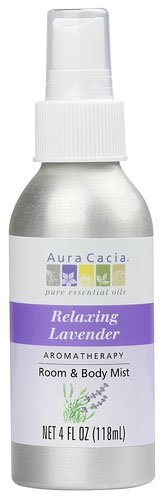 Aura Cacia Aromatherapy Mist Calming Relaxing Lavender -- 4 fl oz - 2pc by Aura Cacia
